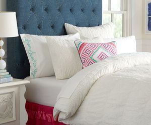bedding, jeans, and pbteen image