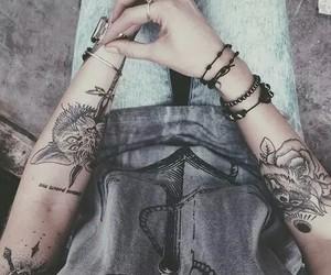 arm, tattoo, and Tattoos image