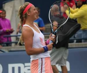 happy, vika, and tennis image