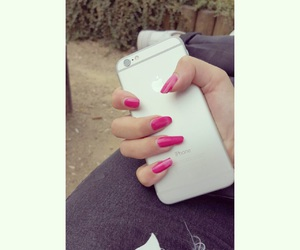 iphone, me, and nails image