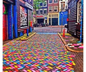 amsterdam, colorful, and girl image