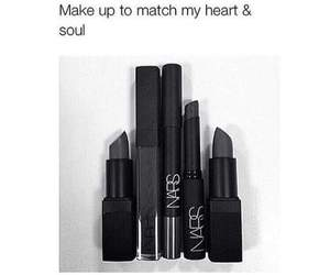 black, makeup, and soul image