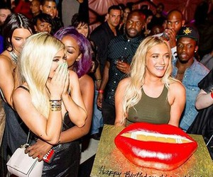 kylie jenner, jenner, and party image