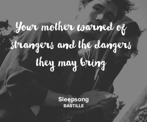 bastille, song, and sleepsong image