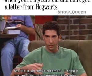 harry potter, hogwarts, and embarrassment image