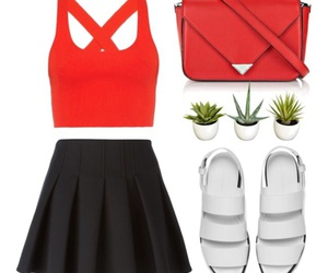 red, cute, and simple image