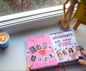 burn book, diy, and mean girls image
