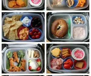 lunch, food, and school image