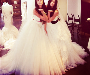 kendall jenner, kylie jenner, and dress image
