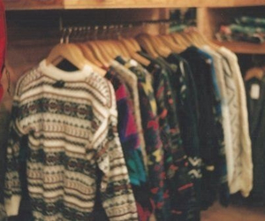 sweater, vintage, and clothes image