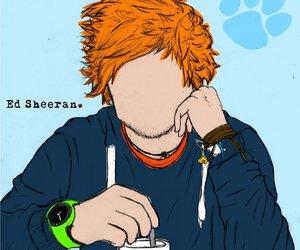 ed sheeran, ginger, and drawing image