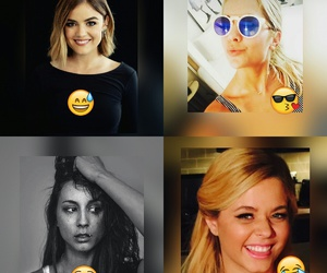 girls, lucy hale, and pretty little liars image