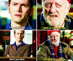 david tennant, doctor who, and wilfred image