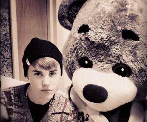justin bieber, bear, and justin image
