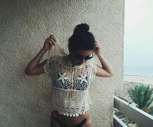 balcony, beach, and boho image