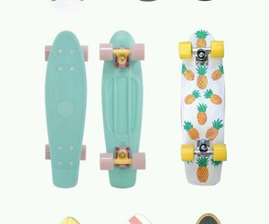 hipster, skateboard, and wallpaper image