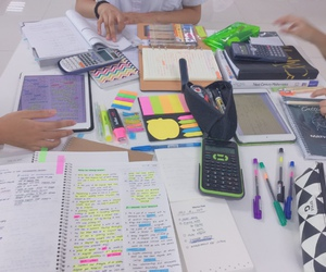 school, student, and studying image