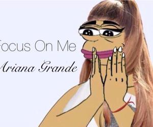 ariana, grande, and focusonme image