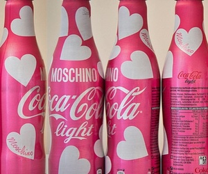 pink and cocacola image
