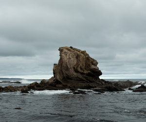 cloudy, nature, and ocean image
