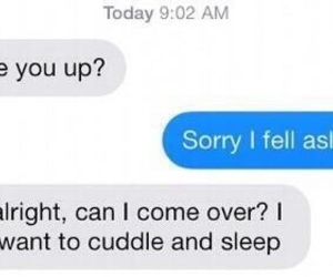 cuddle, text, and couple image