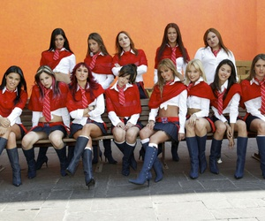 Anahi, angelique boyer, and rebelde image