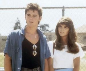1985, couple, and fashion image