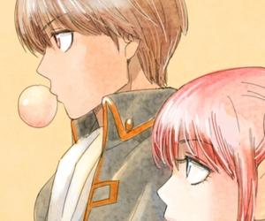 anime, okikagu, and okita sougo image