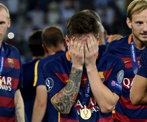 fc barcelona, lionel messi, and fcb image