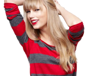 Taylor Swift, red, and blonde image