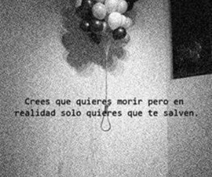 die, frases, and black and white image