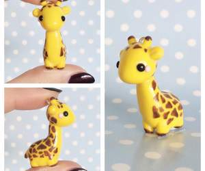 adorable, giraffe, and kawaii image