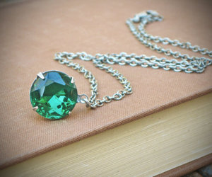emerald, green, and jewelry image