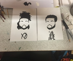 xo, Drake, and the weeknd image