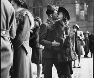 1940s, 40s, and couple image