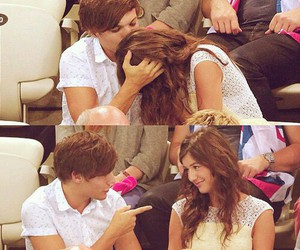 louis, elounor, and one direction image