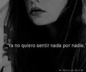 frases, black and white, and nadie image