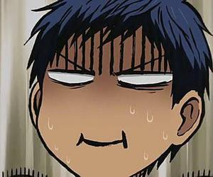 anime, blue hair, and kuroko no basuke image