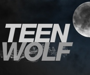Logo and teen wolf image