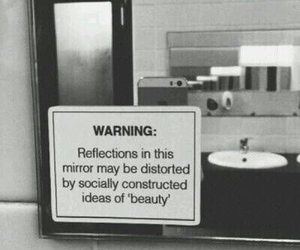 mirror, beauty, and quotes image