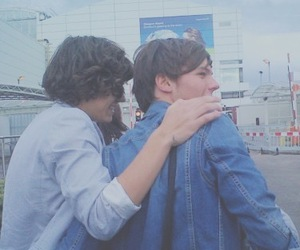 icon, larry, and Harry Styles image