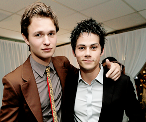 ansel elgort, dylan o'brien, and teen wolf image