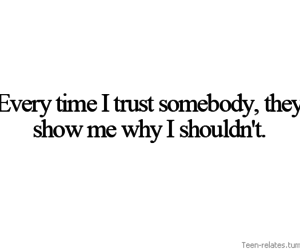 trust, trust quotes, and teenager posts image