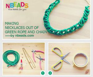 diy, rope, and jewelry making image
