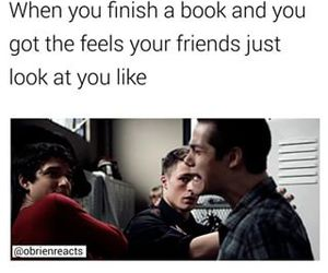 book, feel, and funny image