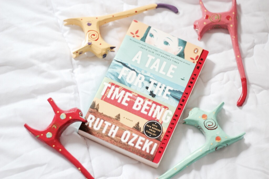 book, read, and a tale for the time being image