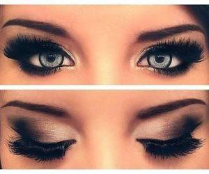 Adriana Lima, tutorial, and eyes image