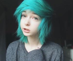 kawaii, emo, and hair image