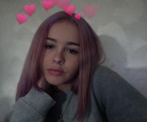 Drake, pastel, and pink hair image