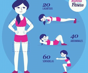 fitness, exercise, and sport image